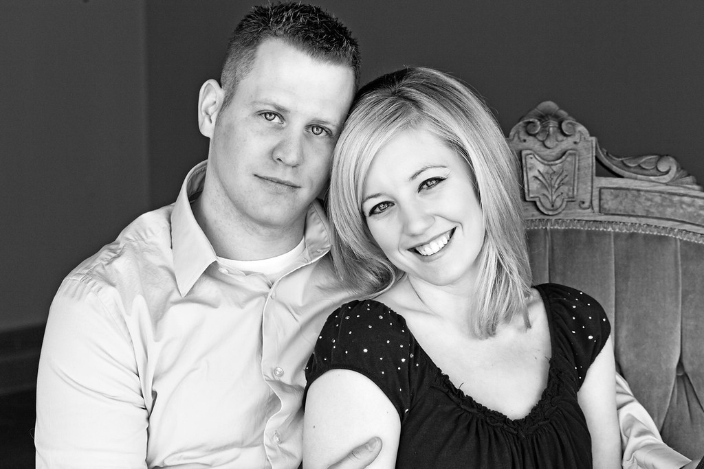 Evan and Kim E-Session-1b&w