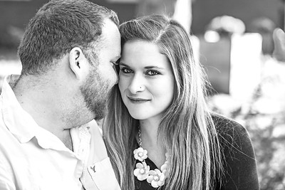 Joe and Becky E-session-33b&w