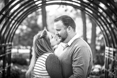 Joe and Becky E-session-11b&w