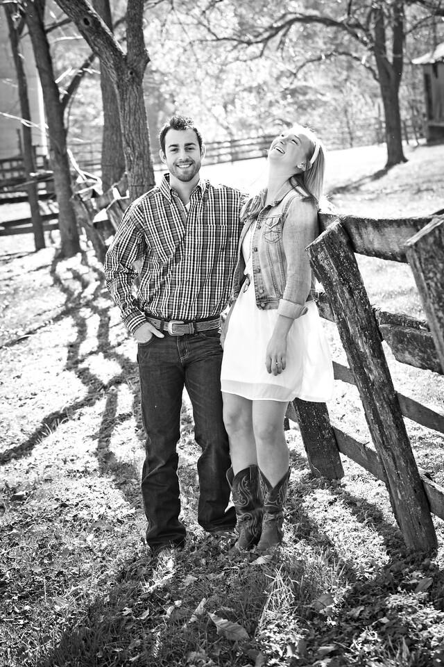 Josh and Kylene E-Session-16b&w