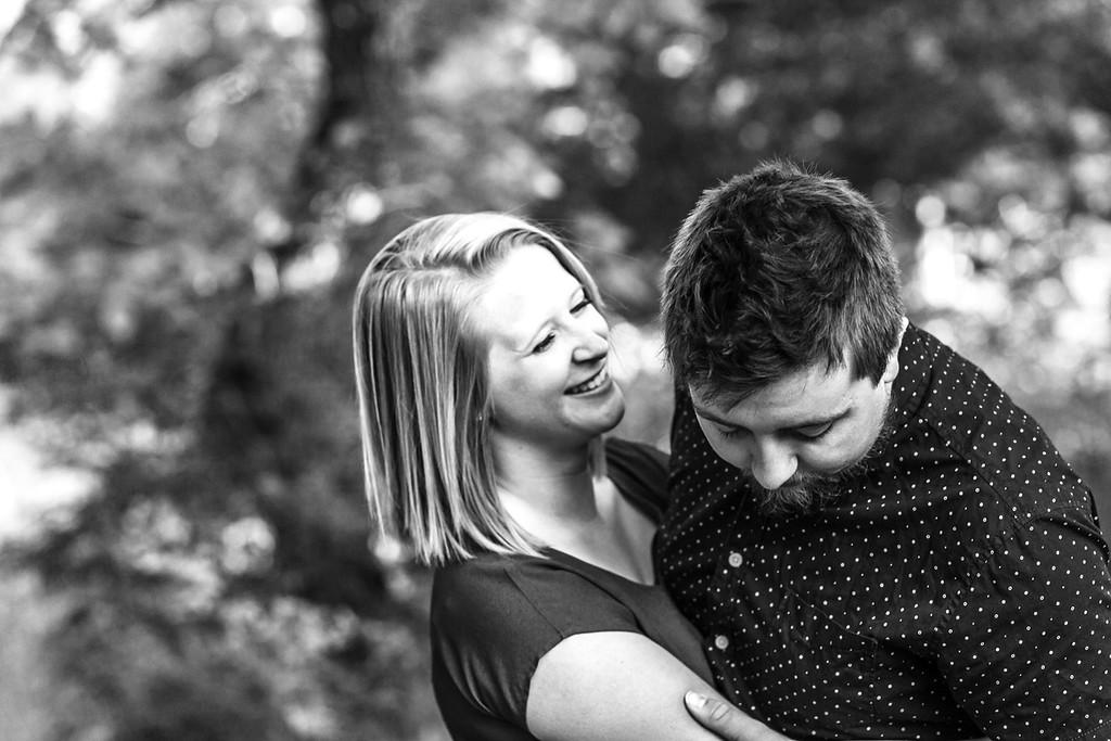 Nathan & Emma 1 Year-22b&w