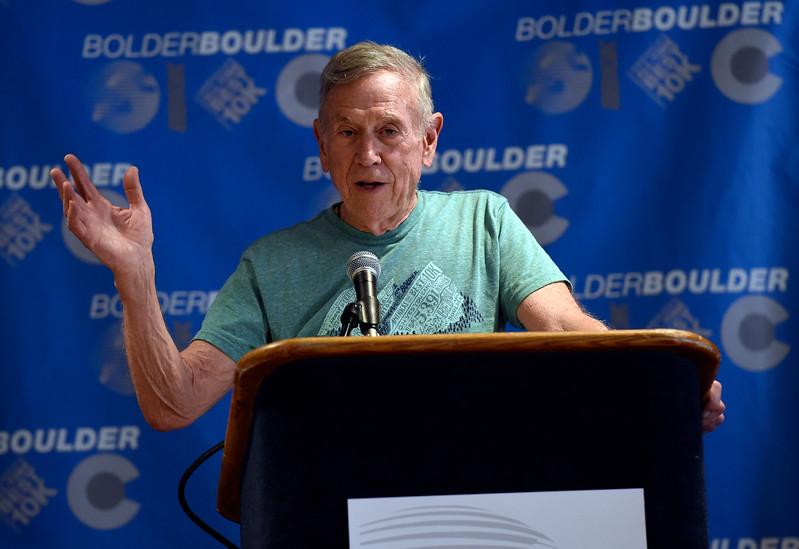 Bolder Boulder Press Conference