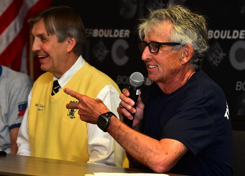 BOLDER BOULDER PRE RACE PRESS CONFERENCE