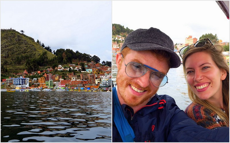 Paddling on Lake Titicaca, Copacabana, Bolivia