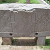 Тиуанако камень с изображением Бога Виракочи и его людей-кондоров и людей-орлов
