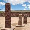 Тиуанако нижний храм Sewsubterraneo центральные скульптуры