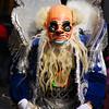 "A performer from the Fiesta del Gran Poder wearing a monster-like costume - La Paz, Bolivia.  Travel photo from the Fiesta del Gran Poder - La Paz, Bolivia. <a href=""http://nomadicsamuel.com"">http://nomadicsamuel.com</a>"
