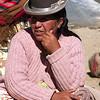 Cholita at the market.