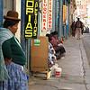 Street vendor taking a rest.