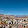 A view of southern La Paz.