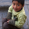 Child posing for Emilie on the streets of La Paz.