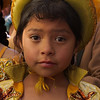 Young girl dressed for the procession.