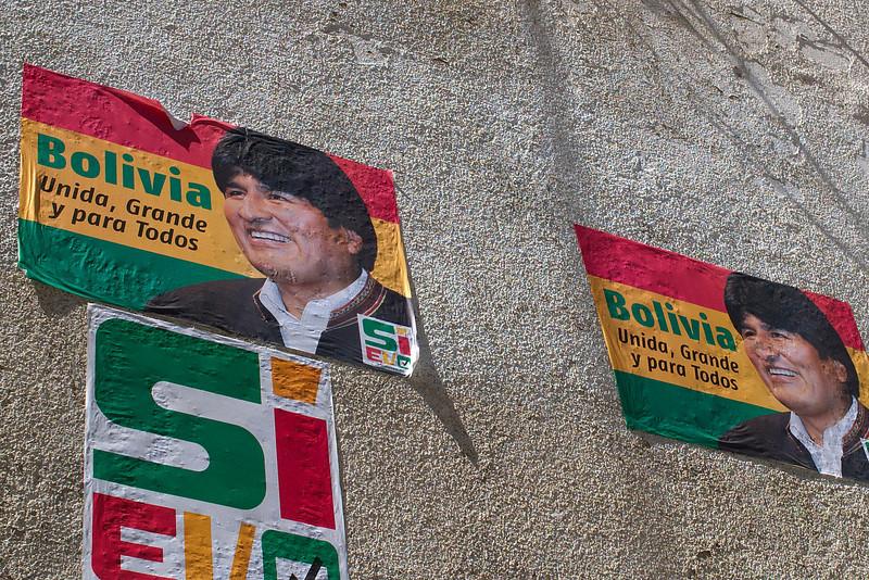 Poster of Evo Morales