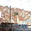 Graffiti in La Paz.