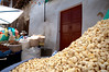 Piles of Bolivian popcorn for sale