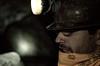 Yann inside the mine.