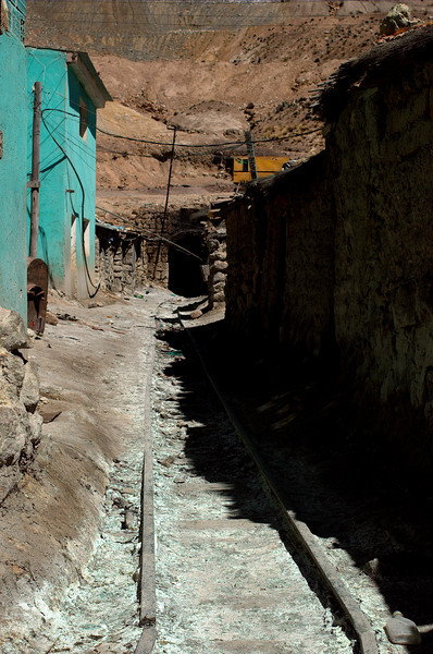 The entrance to Candelaria mine