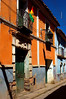 Colourful buildings of Potosi.