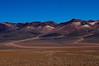Colourful desert landscape