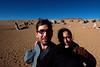 Yann and Emilie on Mars.