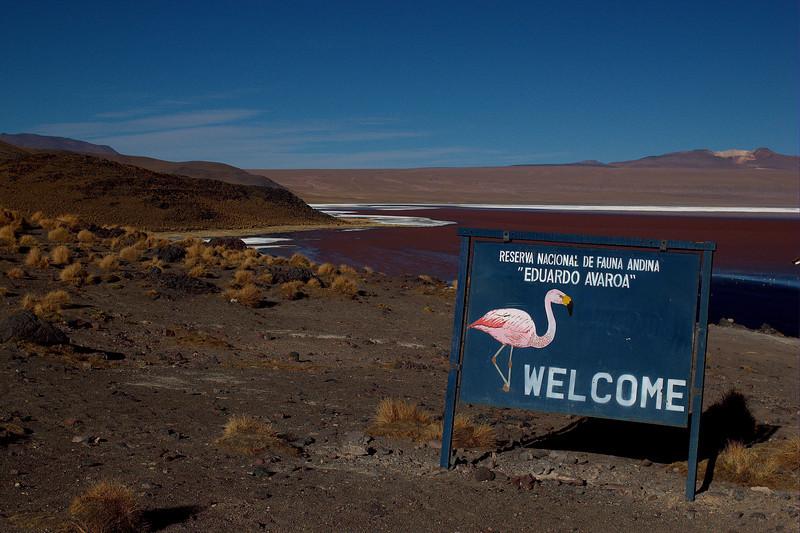 Welcome to the Eduardo Alvoa National Park