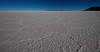 Hexagonal shaped salt on the salar.