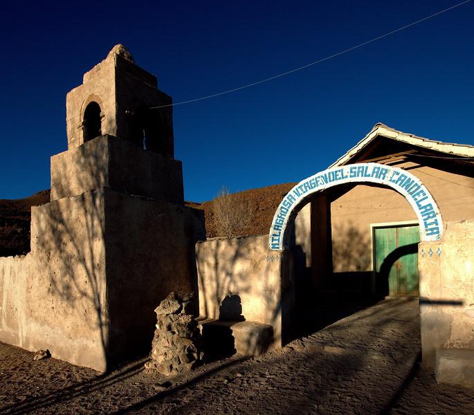 The church of Puerto Chubica.