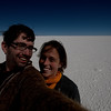 Yann and Emilie at the Salar de Uyuni.