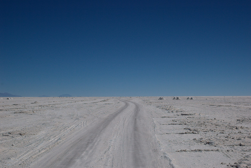 The road into nothingness.