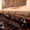 Shoes for sale in Tarabuco