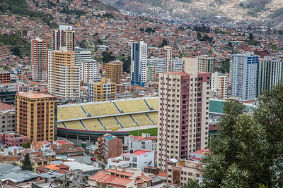 Estadio Hernando Siles Stadium - La Paz