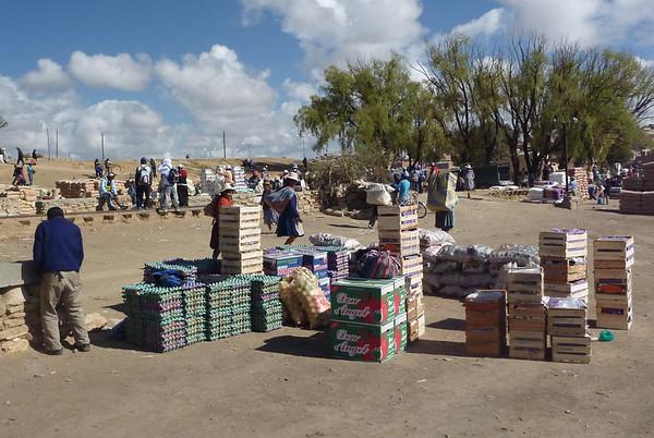 Przejscie graniczne z Argentyńsko-Boliwijskie