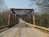 Highway 72 Bridge between Patton and Fredericktown, MO.  Removed