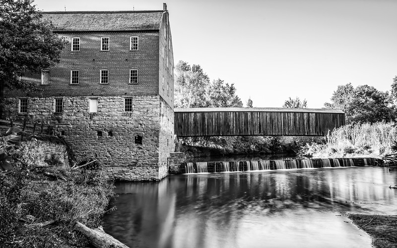 Bollinger Mill - Black & White
