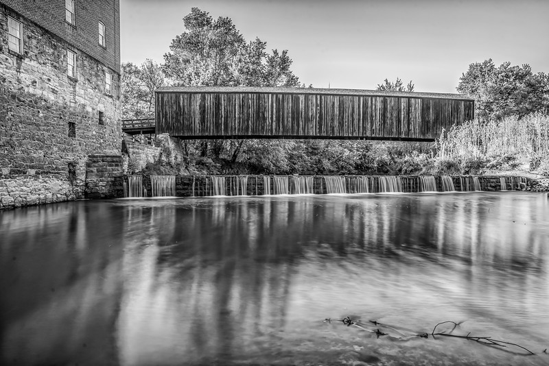 B&W HDR Landscape - Strong