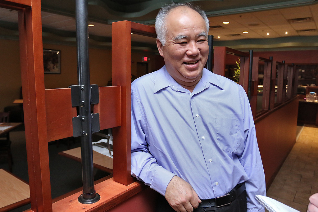 . Owner of Tang Dynasty in Leominster talks about being open during the storm. SENTINEL & ENTERPRISE/JOHN LOVE