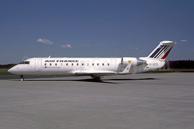 Air France by British European (2nd) Bombardier CRJ200 (CL-600-2B19) G-JECD (msn 7469) NUE (Gunter Mayer). Image: 951556.