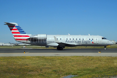 American Eagle-Air Wisconsin Bombardier CRJ200 (CL-600-2B19) N428AW (msn 7695) YYZ (TMK Photography). Image: 933592.