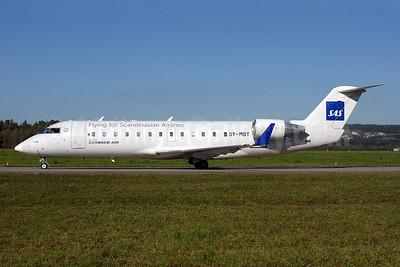 Cimber Air (2nd) Bombardier CRJ200 (CL-600-2B19) OY-MBT (msn 7617) (Flying for Scandinavian Airlines-SAS) ZRH (Rolf Wallner). Image: 907350.