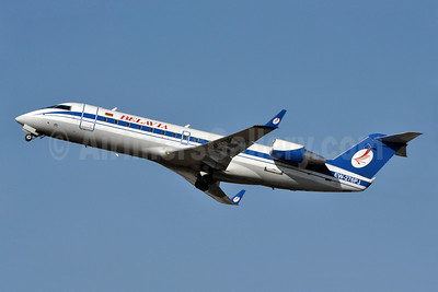 Belavia Belarusian Airlines Bombardier CRJ200 (CL-600-2B19) EW-276PJ (msn 7799) LGW (Richard Vandervord). Image: 909062.