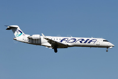 Adria Airways' first Bombardier CRJ700
