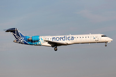 Nordica (Adria Airways) Bombardier CRJ700 (CL-600-2C10) ES-ACE (msn 10083) ARN (Stefan Sjogren). Image: 934518.
