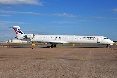 Air France by Brit Air Bombardier CRJ900 (CL-6002D24) F-HDTA (msn 15001) AMS (Ton Jochems). Image: 905161.