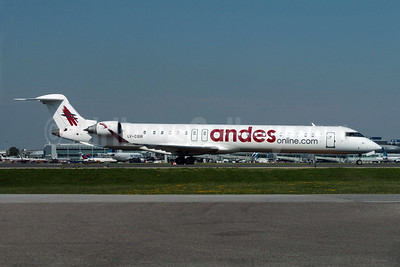 Andesonline.com (Andes Lineas Aereas) (Argentina) Bombardier CRJ900 (CL-600-2D24) LV-CGW (msn 15065) YYZ (TMK Photography). Image: 907206.