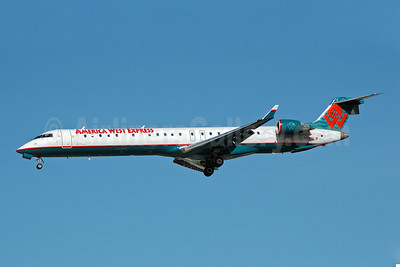Airline Color Scheme - Introduced 1996 (America West Airlines)