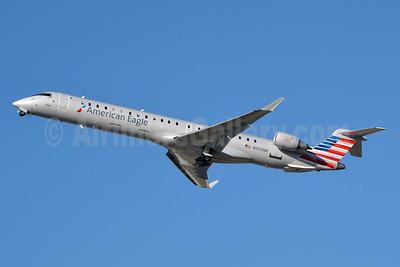 American Eagle (2nd)-PSA Airlines (2nd) Bombardier CRJ900 (CL-600-2D24) N555NN (msn 15338) CLT (Jay Selman). Image: 40261.