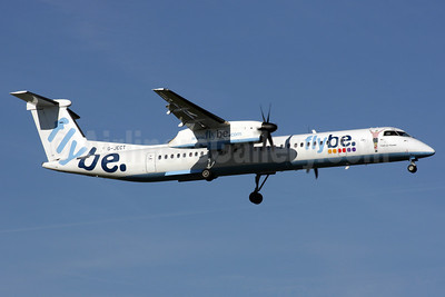 Flybe-British European (2nd) Bombardier DHC-8-402 (Q400) G-JECT (msn 4144) (Matt Le Tissier) LGW (Antony J. Best). Image: 902093.