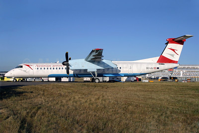 Austrian Arrows-Tyrolean Airways Bombardier DHC-8-402 (Q400) OE-LGJ (msn 4104) FAB (Antony J. Best). Image: 900824.