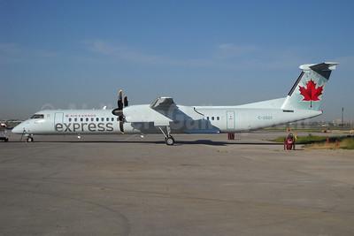 Air Canada Express-Jazz Aviation Bombardier DHC-8-402 (Q400) C-GGOY (msn 4365) YYZ (TMK Photography). Image: 907213.