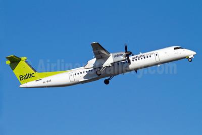 airBaltic (airBaltic.com) Bombardier DHC-8-402 (Q400) YL-BAE (msn 4289) ARN (Stefan Sjogren). Image: 905317.